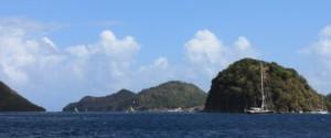 View of Les Saints islands