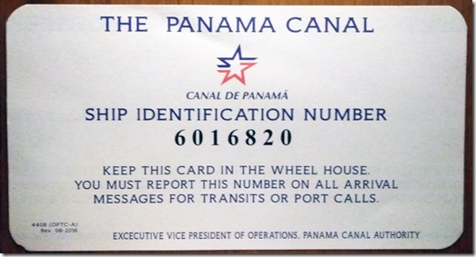 Ship Identification number