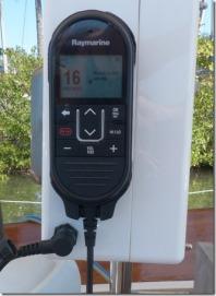External VHF station